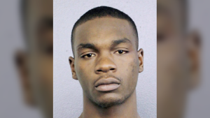 This July 5, 2018 booking photo, made available by the Broward County Sheriff's, Fla., office, shows Michael Boatwright, who is facing a first-degree murder charge in the killing of emerging rap star XXXTentacion.(Broward County Sheriff's Office via AP)