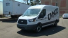 Gary Gattie drives a Commongood Linens van out of the company's yard on July 19, 2018