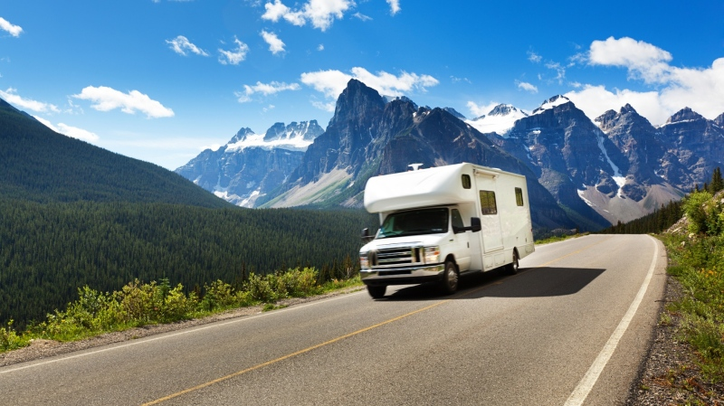 An RV is seen driving in Canada in this file image. (yinyang/istock.com)