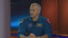 David Saint-Jacques is scheduled to fly to the International Space Station in December 2018