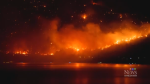 New evacuation orders from Mount Eneas fire