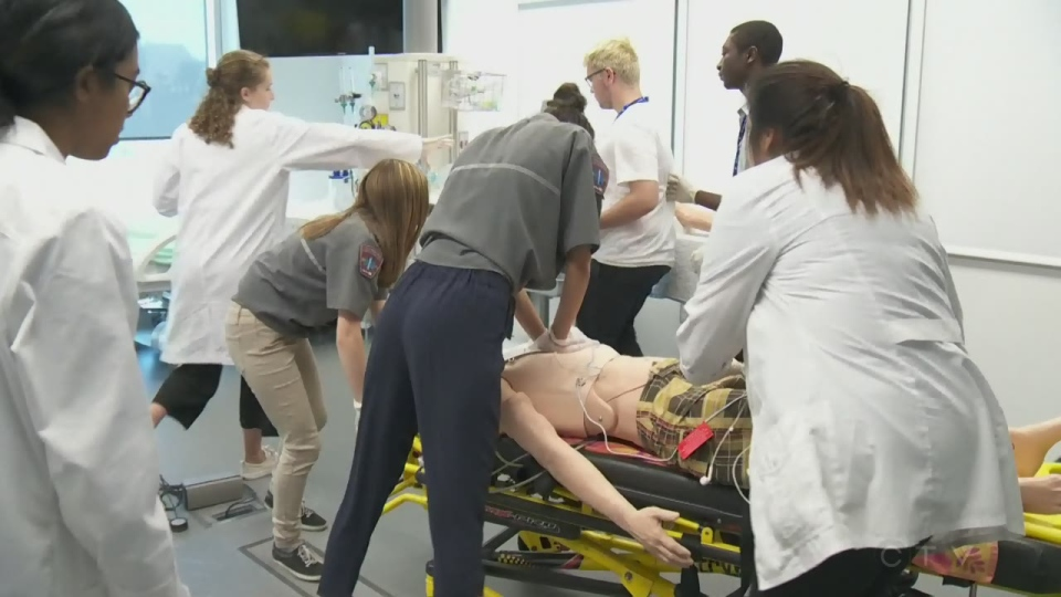 High achieving students get medical training at CHUM day