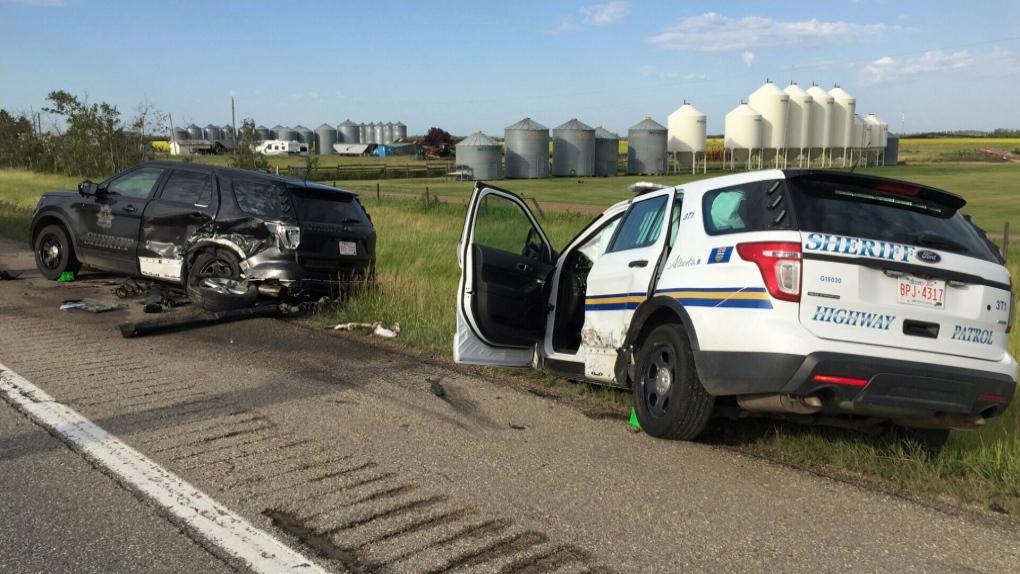 Three injured in crash on Hwy 2 | CTV News