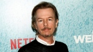 """In this April 23, 2018 file photo, David Spade attends the premiere of Netflix's """"The Week Of"""" in New York. (Photo by Andy Kropa / Invision / AP)"""
