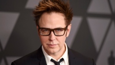 In this Nov. 11, 2017 file photo, filmmaker James Gunn arrives at the 9th annual Governors Awards in Los Angeles. (Jordan Strauss/Invision/AP)