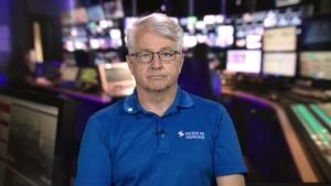 Quebec Lifesaving Society Director Raynald Hawkins