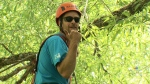 Leilak Anderson, 35, is competing in the International Tree Climbing Championship in Ohio next month.
