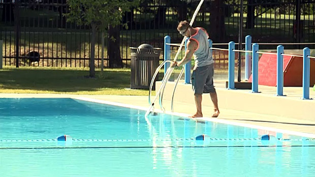 Staff at Henderson Lake Outdoor Pool have had to deal with 12 closures since the start of summer, with nine of those being due to fecal contamination.
