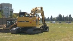 Glenmore Trail project begins