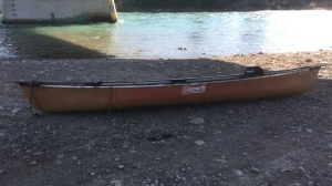 RCMP are asking for help from the public with identifying the owner of a canoe that was found empty on the Bow River on Friday afternoon