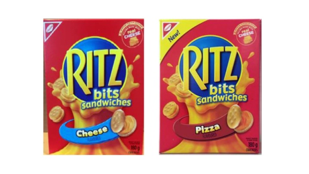 Certain Ritz products recalled over salmonella concerns