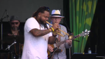 Musicians take the stage at the 2018 Uptown Waterloo Jazz Festival. (July 21, 2018)