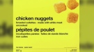 CTV News Channel: No Name brand nuggets recalled
