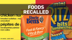 foods recalled