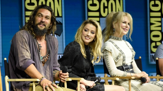 DC unleashes first Aquaman trailer during SDCC 2018