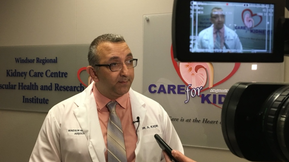 Dr. Albert Kadri addresses his suspension from Windsor Regional on Saturday, July 21, 2018.