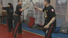 Montreal stick fighters