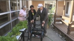 Seniors living at Grove Park in Barrie have the opportunity to exercise their green thumb