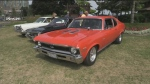 Enthusiasts attend the Annual Barrie Thunder Classics Car show today at Heritage Park in Barrie.