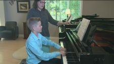 Gifted 12-year-old boy from Oro-Medonte gains attention on the world stage for his talents