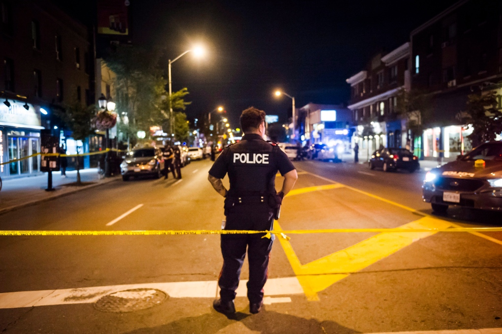 2 victims and gunman dead in Toronto mass shooting
