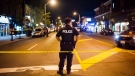 Police are seen securing a perimeter around a scene of mass casualty event in Toronto on Sunday, July 22, 2018. THE CANADIAN PRESS/Christopher Katsarov
