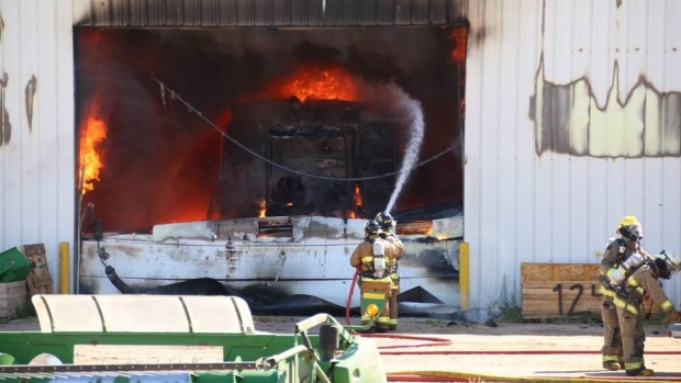 Rosthern Fire