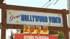 gone hollywood video rental comox