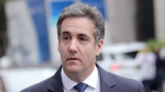 In a Wednesday, May 30, 2018 file photo, Michael Cohen arrives to court in New York. A court filing reveals that a dozen audio recordings seized by the FBI from President Donald Trump's former lawyer, Michael Cohen, have been forwarded to federal prosecutors.  (AP Photo/Seth Wenig, File)