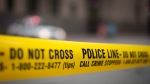 Police tape is shown in Toronto Tuesday, May 2, 2017 .THE CANADIAN PRESS/Graeme Roy