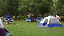 Victoria Park's tent city gets vacate notice