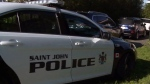 Saint John police say a 19-year-old man will be facing charges of break and enter once he leaves the hospital.