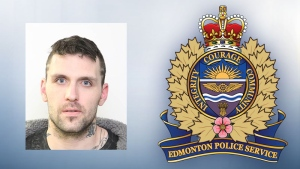 Edmonton police are warning the public about Marc Blouin, a violent offender who will be living in the Edmonton area.