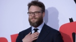 "Seth Rogen attends the LA Premiere of ""Blockers"" at the Regency Village Theatre on Tuesday, April 3, 2018, in Los Angeles. (Photo by Richard Shotwell/Invision/AP)"