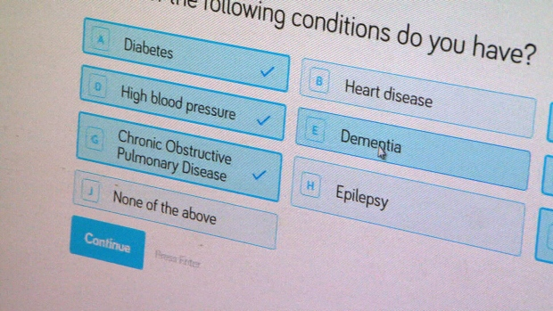 Test your risk of heart disease with a new online lifestyle