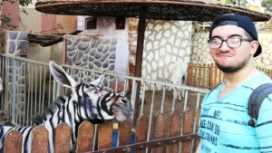 Did this zoo pass off a donkey as a zebra?
