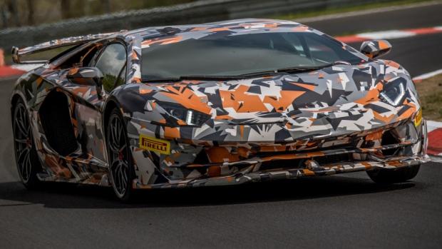 Lamborghini Aventador SVJ Hypercar Curb Stomps Porsche 911 GT2 RS Around Nürburgring