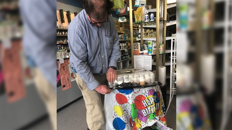 Dave High at his Sunrise Health store