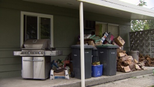Debris around your home can act as fuel for a fire to burn. (CTV)