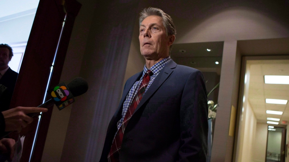 Hamilton Mayor Fred Eisenberger is seen in this file image from February 2015. THE CANADIAN PRESS/Chris Young