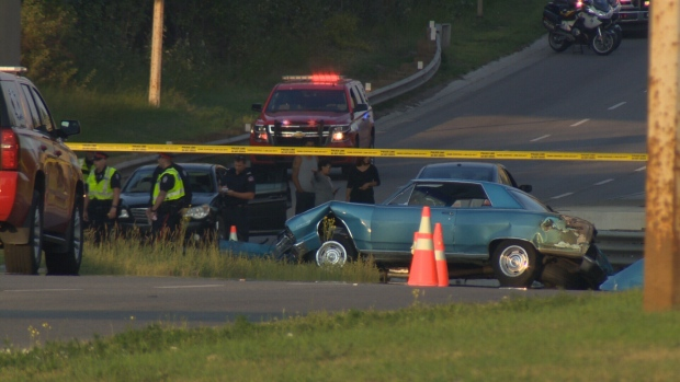 Man killed in crash while racing sports car on Yellowhead