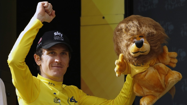 Thomas thanks Froome ahead of yellow jersey triumph
