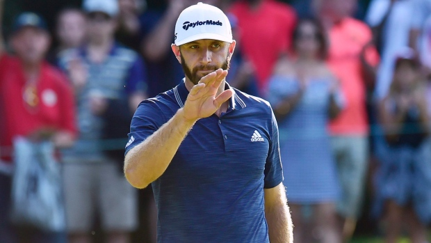 Johnson shares Canadian Open lead after 65
