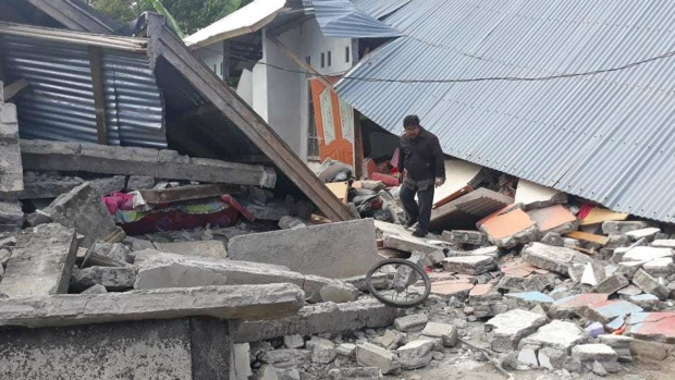 Quake hits Indonesia