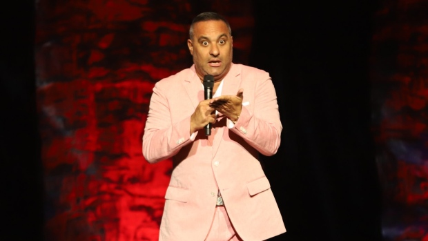 Comedian Russell Peters performs at Caesars Windsor in Windsor, Ont., on Saturday, July 28, 2018. (Melanie Borrelli / CTV Windsor)