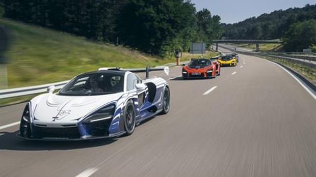 mclaren delivers first customer model of senna sports car | ctv news
