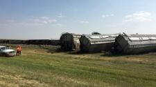 No injuries in train derailment