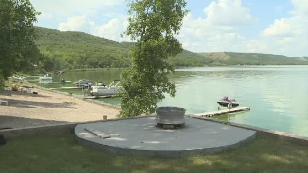 A property shown at Crooked Lake.