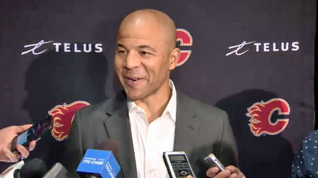 d2276f98f2e Jarome Iginla s number 12 to be retired at the Saddledome
