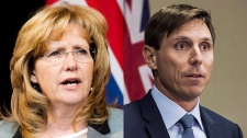 Linda Jeffrey and Patrick Brown